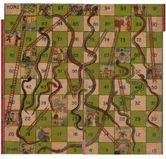 Australia Snakes and Ladders Game Board; chutes and ladders, games, boardgame, children, play, family, graphics, graphic design