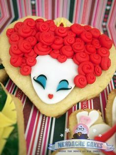 Queen of hearts cookie