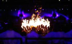 London 2012 Olympic cauldron design by Thomas Heatherwick studio