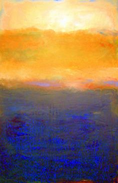 Golden Sunset on Lake Michigan by Michelle Calkins