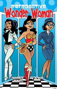 Retro Wonder Woman