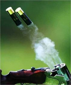 clays, picture day, barrels, shotguns, weapon, shotgun shells, feelings, bang, smoke