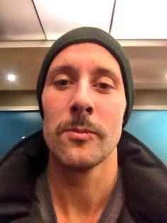 Edmonton Oilers' Sam Gagner. #Movember