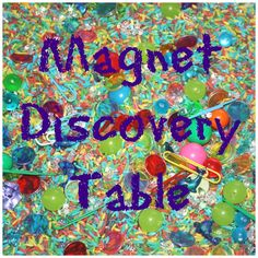 magnet discovery table