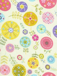 Great floral pattern by Linda Solovic