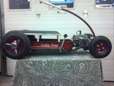 red wagon hot rod radio flyer | ... View topic - Allie's Christmas Hot Rod Radio Flyer wagon (Finished