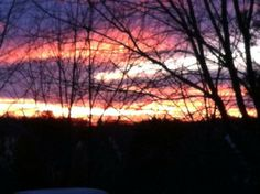 @monschaefer tweeted this #TODAYSunrise from Stafford, Virginia.