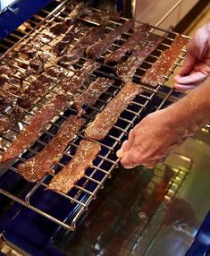 How to Make the Best Beef Jerky in the World(the actual recipe sounds really good-I think I'm going to try it.  TK)