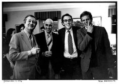 The foursome: William Styron, Tom Guinzburg, Peter Matthiessen, and George Plimpton, November 4, 1976.
