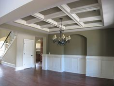 Family Room Ideas, Designs & Pictures | Family Room Decorating. I would love to have chauffeur ceilings.