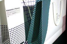 A corporate identity for the tailor's studio by Koneva Ekaterina, via Behance