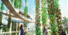Aquaponic Urban Food Jungle is a Produce-Filled Utopia - foodista.com