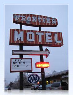 Frontier Motel -    Oberlin, Kansas