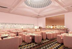 India Mahdavi and David Shrigley : The Gallery Restaurant at Sketch