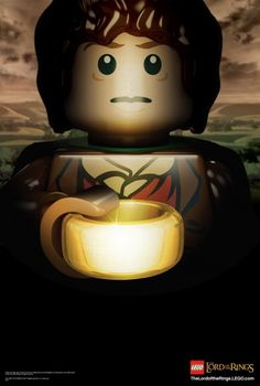 Lord of the Rings Legos. Not sure who wants this more? Finn or Erik?