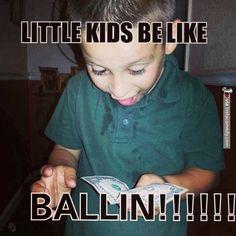 Little kids be like...