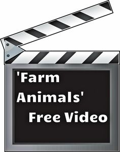 Great video to educate young children about farm animals and their babies. Free!