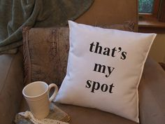 Big bang quote graphic throw pillow, decorative throw pillow, funny pillow. $14.99, via Etsy.