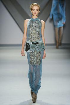 Vera Wang NY Fashion Week Fall 2012