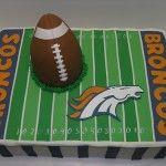 Denver Broncos Cake idea, bronco footbal, bronco parti, cakes, denver broncos grooms cake, bronco cake, groom cake, bowl parti, denver broncos cake