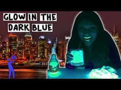 Glow in the Dark Blue Cocktail - Tipsy Bartender - YouTube
