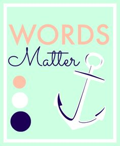 FHE Lesson: Words Matter