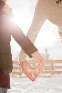 cute engagement phot