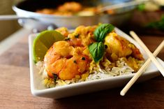 Coconut Curry Shrimp by Ree Drummond / The Pioneer Woman, via Flickr