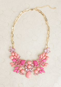pretty jeweled necklace