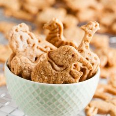 Both cinnamon and honey combine to give these soft, tender cinnamon animal crackers a flavor reminiscent of mini donuts or cinnamon buns.