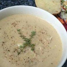 Roasted Cauliflower Soup Allrecipes.com