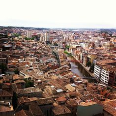 Great views of Girona from the Cathedral's Bell Tower!