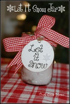 Let It Snow, Let It Snow, Let It Snow...An Easy Christmas Craft! *That One Mom*