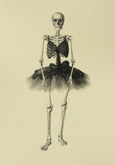 skeleton ballerina