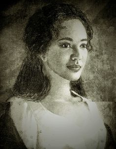 """Sally Hemings was considered to be very beautiful with """"straight hair down her back"""". No known portrait exists. If drawings were ever created, they were either destroyed or lost over the years. Some speculate that due to their kinship, Hemings and Martha Jefferson may have looked very similar which could have been a key factor in Jefferson's attraction to Sally Hemings."""