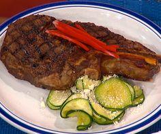 Trisha Yearwood's Karri's Steak Marinade & Zucchini Saute