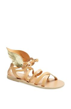 Ancient Greek Sandals 'Nephele' Winged Leather Sandal available at #Nordstrom