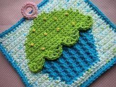 cupcake potholder. craft, cupcak pothold, pothold crochet, crochet cupcake dishcloth, crochet potholders patterns, knitted potholders, crochet patterns, crocheted potholders patterns, cupcak crochet
