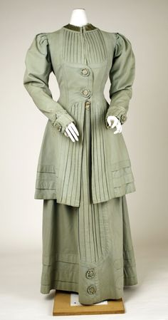 Suit, Jules et Cie (New York): ca. 1908, American, wool.