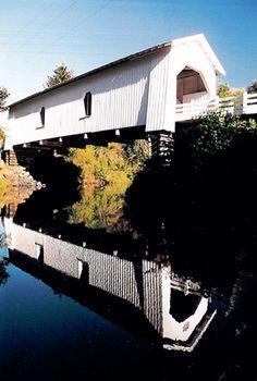 Hoffman (Crabtree Creek) Covered Bridge, Linn County, Oregon