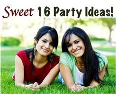 19 Creative Ideas for a Sweet 16 Birthday Party! Love this website! Going into debt trying to throw a decent party is no way to celebrate. Kids will literally have fun in a grass field if you make an effort.