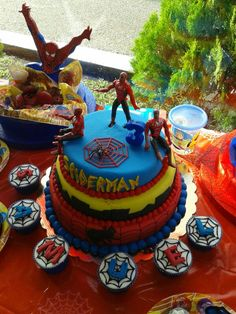 Torta de Spiderman