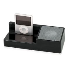 Awesome desktop docking station with speakers.
