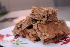 chocoalte banana protein bars
