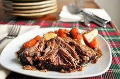 Balsamic Pot Roast (in the Crock Pot)