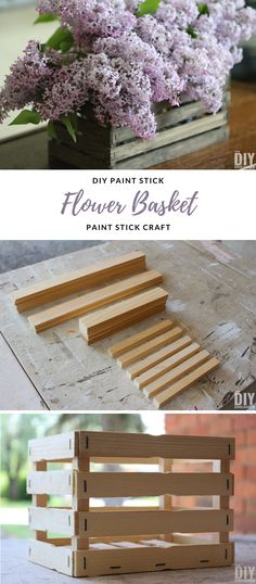 DIY Paint Stick Maso