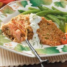 Pecan-Crusted Salmon Recipe
