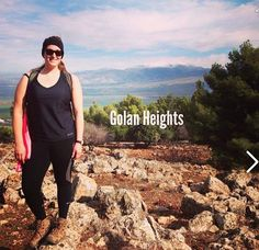 Lola is loving how Jess rocked her #LolaGetts while #hiking in the Golan Heights!