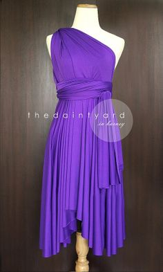 Barney Bridesmaid Convertible Dress Infinity Dress Multiway Dress Wrap ...