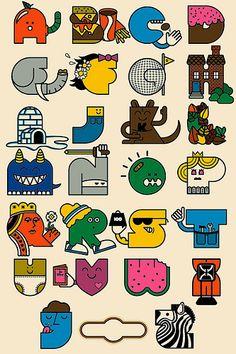 Alphabet poster | Flickr - Photo Sharing!